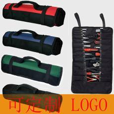 手提多功能卷筒式五金工具袋 户外电信维修工具包 电子电工修理包
