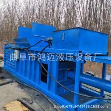 批發銷售小型10噸20噸工廠碎料液壓打包機立臥式廢紙打包機廠家