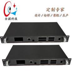 厂家直销1U标准机箱加工定制非标机箱工控机箱服务器通迅机箱