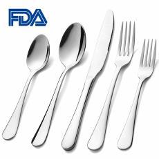 现货牛排刀叉套装 亚马逊热卖 430不锈钢餐具 厨房经典西餐刀叉勺
