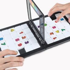 外贸儿童益智拼图智力数字对战魔方亲子互动竞技魔方桌面游戏玩具