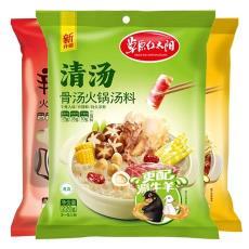 220g草原红太阳骨汤火锅汤料 汤肉调味料 双羊肉火锅底料