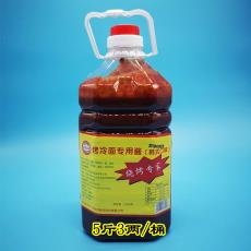 商用批发大桶装5.3斤 东北小子 韩式烤冷面片皮 烤冷面酱专用酱