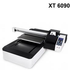 圆型酒瓶UV打印机 UV6090打印机生产厂家 T血衫 XP600UV打印机