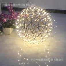 户外景观发光球装饰灯厂*设计师推荐广场花坛景观灯球美陈装置