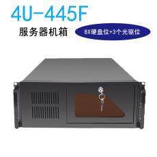 4U工控機箱 錄像機箱DVR機箱 8個硬盤位3個5.25光驅位