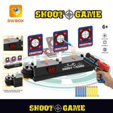 现货厂家直销电子计分靶电动计分标靶自动回位水弹软弹枪对战跨境