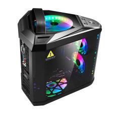 批发高端网吧玻璃水冷 三体 网红台式机电脑个性立体主机箱玩嘉