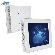 定制8.4-22寸嵌入式工业显示器 铝面框工业电脑 工控触摸一体机