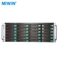 24盘位 2U服务器 MIWIN迈存 视频监控网络存储服务器 存储扩展柜