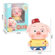會說話會跳舞小豬電動兒童益智玩具 抖音同款美高樂豆豆豬