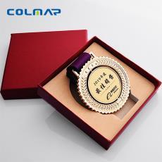 高精度打印设备 奖牌文字定制加工 UV平板打印机 奖牌奖碑打印机