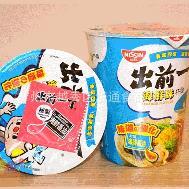 香港原装进口 方便面食品批发 日清制造出前一丁杯面6口味24杯/箱