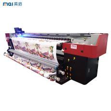 3.2米宽幅3d墙体喷绘机8D水晶壁画5D皮革软包打印机写真机