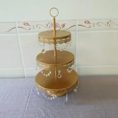 婚庆甜品展示台几何形状托盘点心架厂家直销 欧式铁艺蛋糕架子