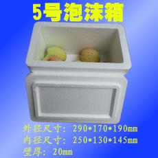 企文5号泡沫箱邮政各类水果蔬菜海鲜保鲜箱物流快递箱