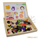 磁性拼拼乐 木质早教拼拼乐 益智玩具 磁性儿童拼图