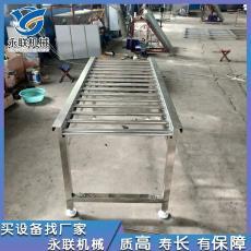 供应无动力流水滚筒输送线 厂家直销 不锈钢滚杠流水线输送机