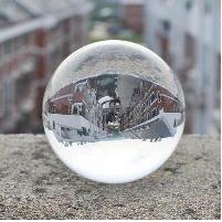 透明游戏照相拍摄影许愿迷你摆设道具小水晶球玻璃礼物房间装饰品
