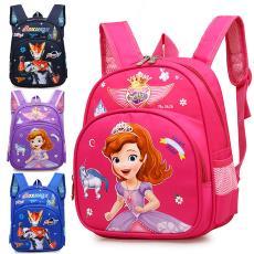 儿童书包幼儿园学前班男女童宝宝可爱公主苏菲亚2-4岁小中班背包