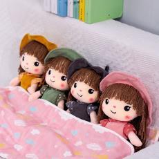 女孩菲儿花仙子公仔童年陪伴礼物 造型可爱朵儿布娃娃毛绒玩具