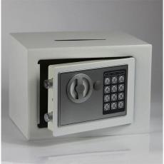 保险柜家用小型防盗入衣柜带锁加密码固定式床头柜迷你保险箱