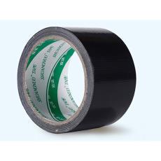 彩色胶带 布基胶带橡塑胶带地毯胶地板胶diy装饰黑色强力防水大力