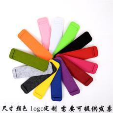 定制各种笔套量大优惠 厂家直销羊毛毡钢笔套 时尚笔袋 文具笔袋