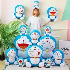 动漫哆啦A梦毛绒玩具外贸爆款儿童玩偶抱枕公仔布娃娃创意小礼品