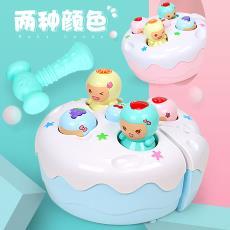 兩歲寶寶打地鼠玩具一嬰幼女兒童男孩電動益智1-2-3有效中性