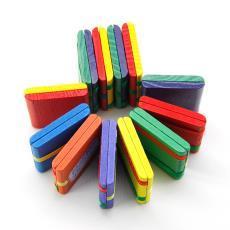 儿童益智魔术翻板玩具 科教拼板地摊货源 木质彩色溜溜板批发