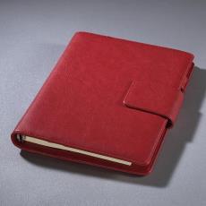 厂家直销仿皮商务日记簿 定制专版logo 办公文教多功能日记便签本