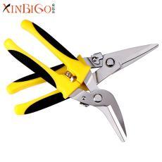 多功能电子剪刀 防滑手柄电工龙骨剪集成吊顶剪 不锈钢板铁皮剪刀