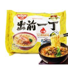 香港进口食品 方便面泡面100g 出前一丁XO酱油海鲜味