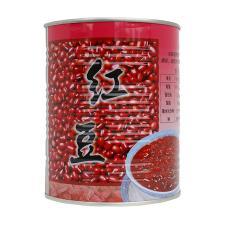 名忠红豆糖水罐头900g 刨冰冰沙双皮奶甜品专用 蜜红豆相思豆