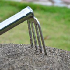 不锈钢小锄头农具种菜种花工具农用翻地开山园艺锄头耙镐锄113