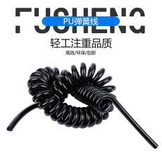 2芯4平方PU弹簧电缆线 供应PU螺旋电缆线3芯6平方螺旋电缆