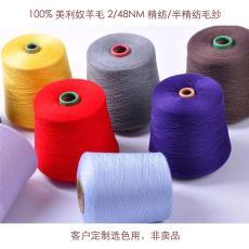 【非賣品,客戶選色用】100%美利奴羊毛 yarn 2/48nm羊毛紗線Wool