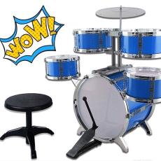 地摊热卖厂家直销乐器柏晖架子鼓音乐爵士鼓西洋打击儿童益智玩具