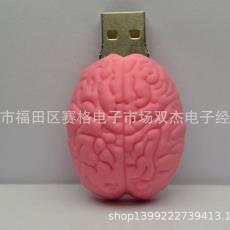 迷你卡通脑袋U盘壳 新创意奇特硅胶U盘外壳