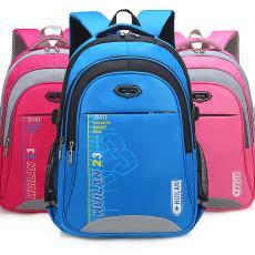 安全反光条书包1-3-6年级小学生男6-12周岁减负耐磨儿童背包代发