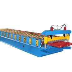 高速压瓦机 供应油泵液压切割彩钢压瓦机设备