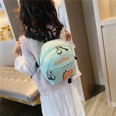 创意新款尼龙儿童小背包韩版印花幼儿园书包男女萌宝宝卡通双肩包