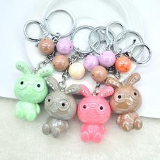新款韩版钥匙扣批发创意可爱卡通小熊钥匙扣服装包包钥匙圈挂件