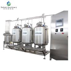 全自動清洗系統 CIP清洗系統 飲料CIP清洗設備 生產線清洗