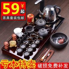 水壺茶夾一套濾茶器組合個性精美居家平底小人辦公室噴水茶具套裝