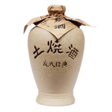 低價批發 四川特色優質白酒 龐氏經典土燒酒250ml 濃香型
