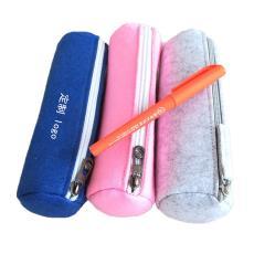 厂家供应韩版毛毡笔袋 环保创意毛毡笔袋可定制印刷 文具毛毡笔袋