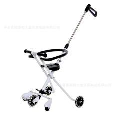 嬰兒推車升級版簡易輕便攜兒童折疊車三輪嬰兒手推遛溜娃神器