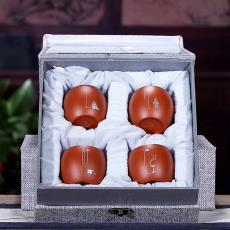 宜興紫砂主人杯功夫茶具套裝茶杯品茗杯批發定制廠家直銷一手貨源